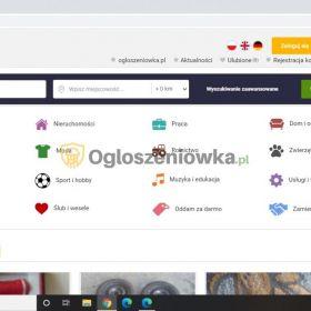 Serwis ogłoszeniowy ogloszeniowka.pl